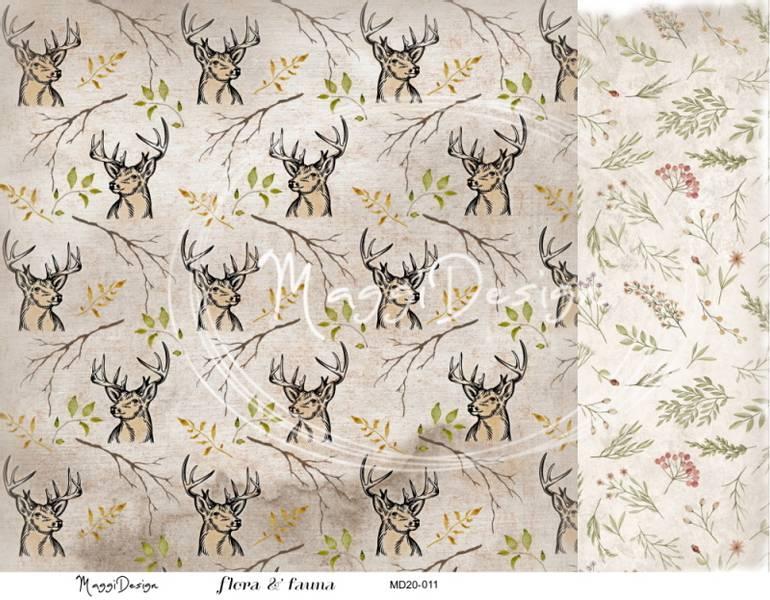 Maggi Design - MD20-011 - Flora & Fauna