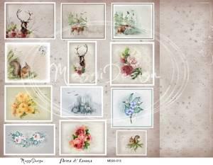Bilde av Maggi Design - MD20-013 - Flora & Fauna