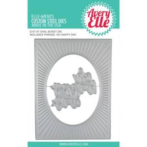 Bilde av Avery Elle - Elle-Ments Dies - D0707 - Oval Burst