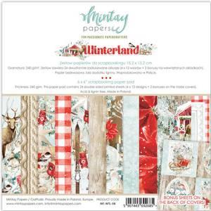 Bilde av Mintay - WTL - 6x6 Paper Pad - Winterland