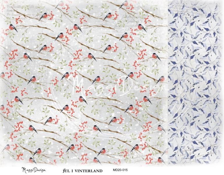 Maggi Design - MD20-015 - Jul i Vinterland