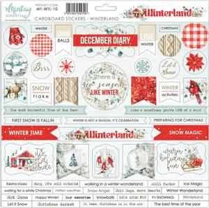 Bilde av Mintay - WTL - 12x12 - Winterland - Cardboard Stickers