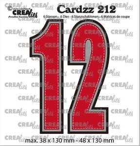 Bilde av Crealies - Dies - Cardzz 212 - Numbers 1 and 2