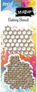 Bilde av Joy Crafts - 6002-0979 - Mixed Up - Honeycomb - Wall