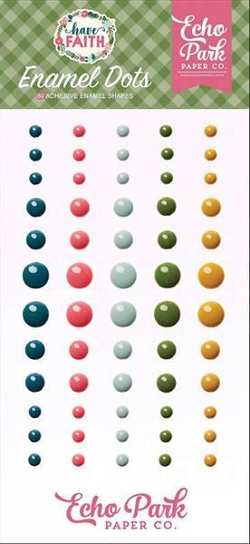 Echo Park - Enamel Dots - Have Faith - 60 stk