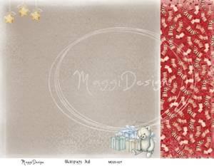 Bilde av Maggi Design - MD20-027 - Bamses Jul
