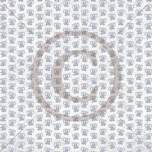 Bilde av Papirdesign PD1900328 - Håpefull - Elefant, blå