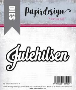 Bilde av Papirdesign Dies PD18460 - Julehilsen 3