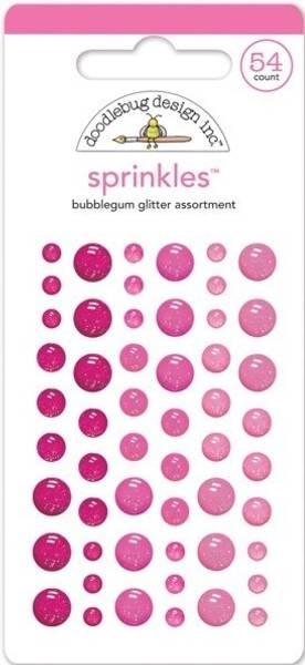 Doodlebug - 4534 - Sprinkles - Glitter dots - Bubblegum