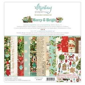 Bilde av Mintay - MBR - 12x12 Paper Set - Merry & Bright