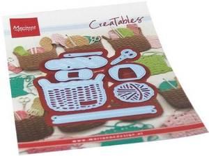 Bilde av Marianne Design - Creatables - LR0689 - Wool basket