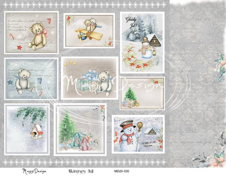 Maggi Design - MD20-030 - Bamses Jul