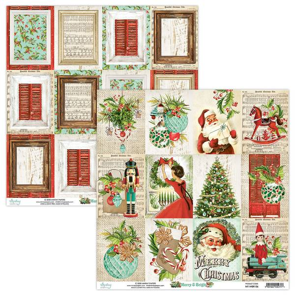 Mintay - MBR - 12x12 - Merry & Bright - 06 Picture Sheet