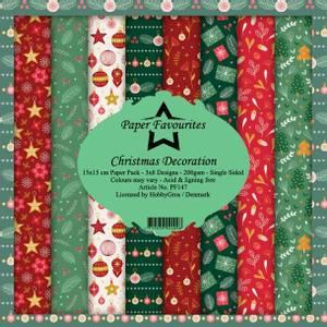 Bilde av Paper Favourites - 6x6 Paper Pad - PF147 - Christmas Decoration