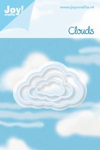Bilde av Joy Crafts - 6002-0199 - NOOR DESIGN - CLOUDS 3 STK