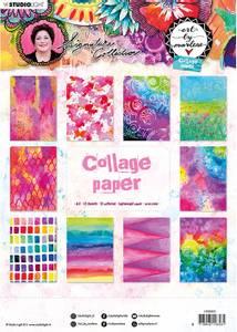 Bilde av Studiolight - Collage Paper A4 - Art By Marlene 5.0 - nr.05