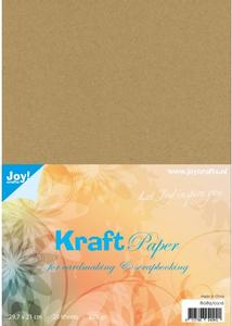 Bilde av Joy Crafts - Kartong - 8089/0216 - Kraft Paper 220g - A4 - 25stk