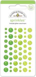 Bilde av Doodlebug - 4538 - Sprinkles - Glitter dots - Limeade