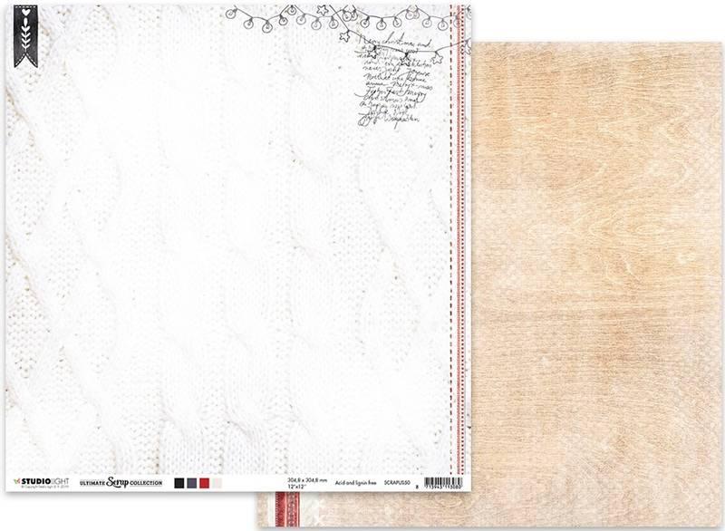 Studiolight - 12x12 - ScrapUS50 - Ultimate Scrap Collection 50
