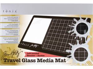 Bilde av Tim Holtz - 2632E - Travel Glass Mat - 10.25x15.5