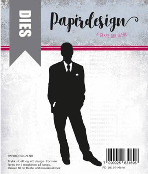 Papirdesign Dies PD16169 - Mann