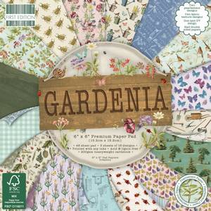 Bilde av First Edition - 205 - 6x6 Paper Pad - Gardenia