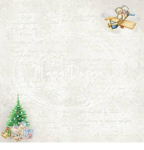 Maggi Design - 12x12 - Hele kolleksjonen - Bamses Jul