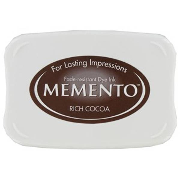 Memento Dye Ink Pad 800 - Rich Cocoa