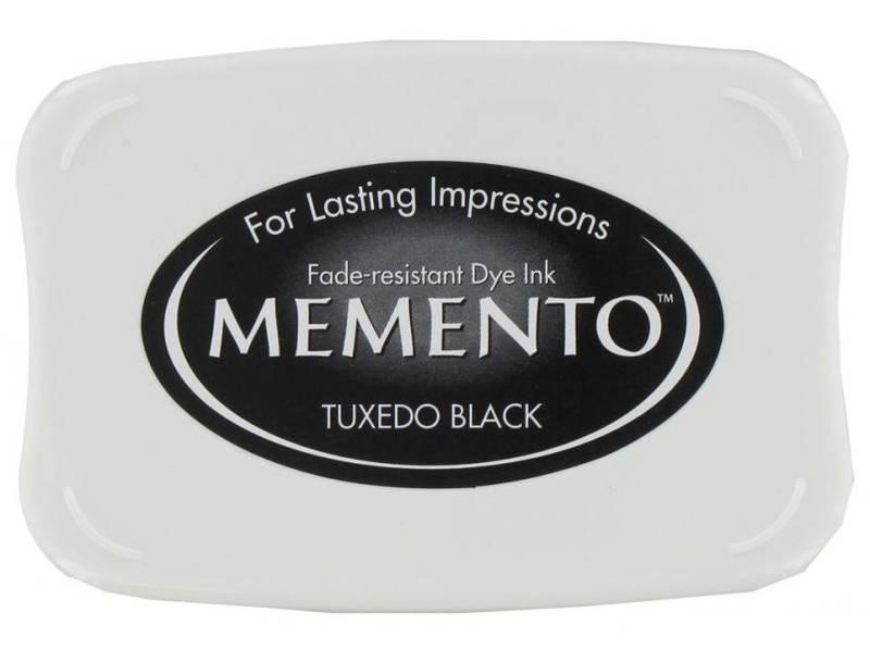 Memento Dye Ink Pad 900 - Tuxedo Black