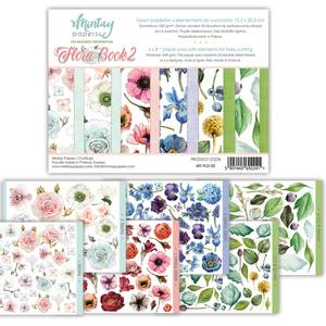Bilde av Mintay - FLO - 6x8 paper pad with elements - Flora Book 02