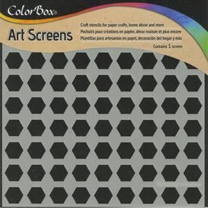 Bilde av Clearsnap - ColorBox - 6x6 - Art Screens - Hexagons
