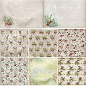 Bilde av Maggi Design - 12x12 - Hele kolleksjonen - Flora & Fauna