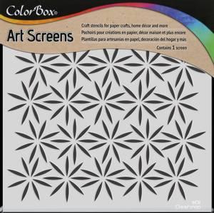 Bilde av Clearsnap - ColorBox - 6x6 - Art Screens - Petals