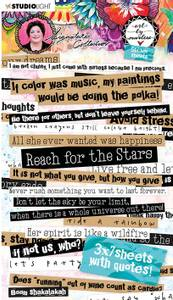 Bilde av Studiolight - Sticker Pad - Art By Marlene 2