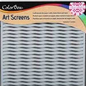 Bilde av Clearsnap - ColorBox - 6x6 - Art Screens - Wave