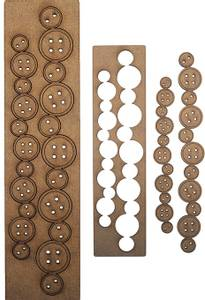 Bilde av Creative Expressions - Art-Effex Boards MDF - Buttons Border