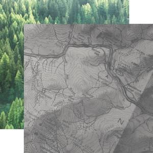 Bilde av Kaisercraft - P2582 - 12x12 - Mountain Air - Adventure