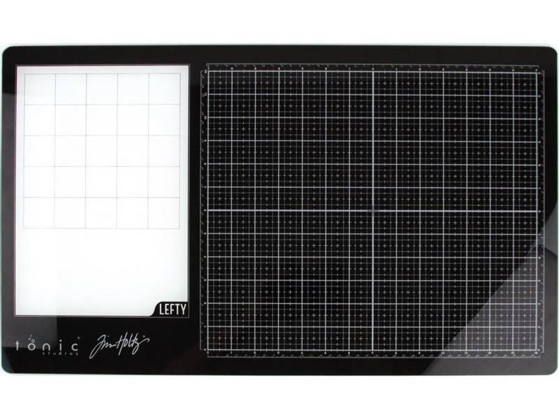 Tim Holtz - 1913E - Glass Media Mat 23.75x14.25