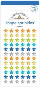 Bilde av Doodlebug - 6625 - Shapes Sprinkles - Star-fetti
