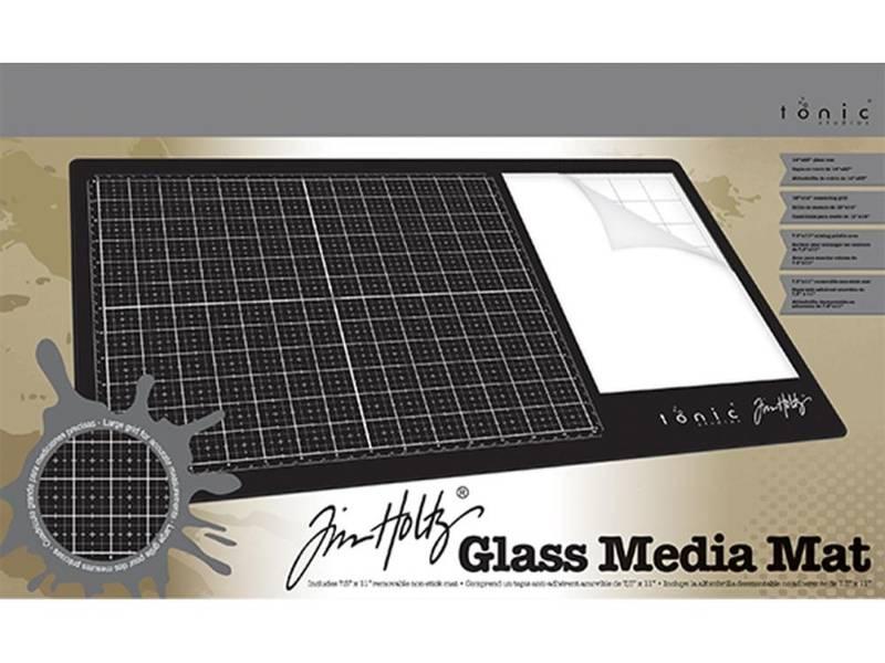 Tim Holtz - 1914E - Glass Media Mat 23.75x14.25