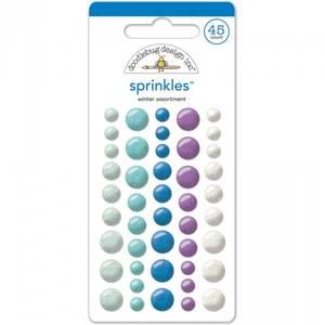 Bilde av Doodlebug - 4401 - Sprinkles - Glossy dots - Winter