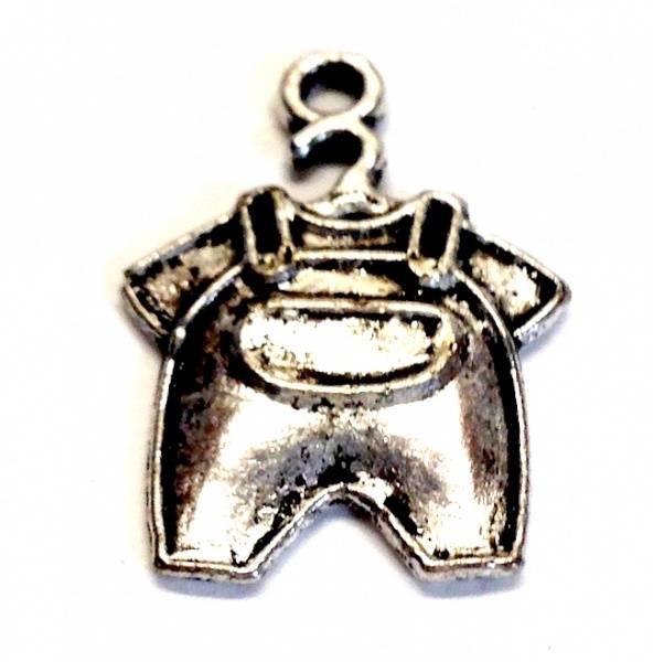 Charms - Baby Sparkebukse - Sølv  - 5 stk