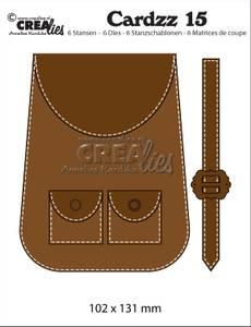 Bilde av Crealies - Dies - Cardzz  15 - Backpack (cardsize)