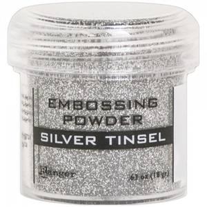 Bilde av Ranger - Embossing powder - Silver Tinsel