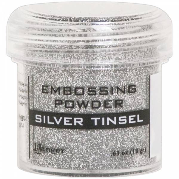 Ranger - Embossing powder - Silver Tinsel