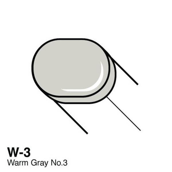 Copic - Sketch Marker - W3 - WARM GRAY NO.3