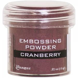 Bilde av Ranger - Embossing powder - Cranberry Metallic
