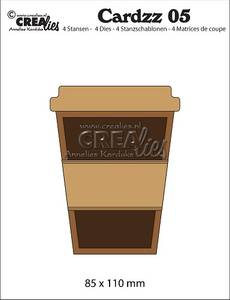 Bilde av Crealies - Dies - Cardzz   5 - Mug to go (cardsize)