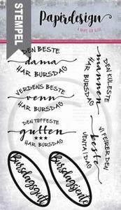 Bilde av Papirdesign - Stempel - PD18416 - Den beste