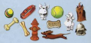 Bilde av Carol Wilson Fine Arts - Die Cuts - Dog Fun